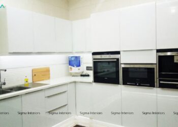 Modern kitchen setup