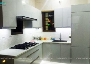 Kitchen Designed by Sigma Interiors, Kochi