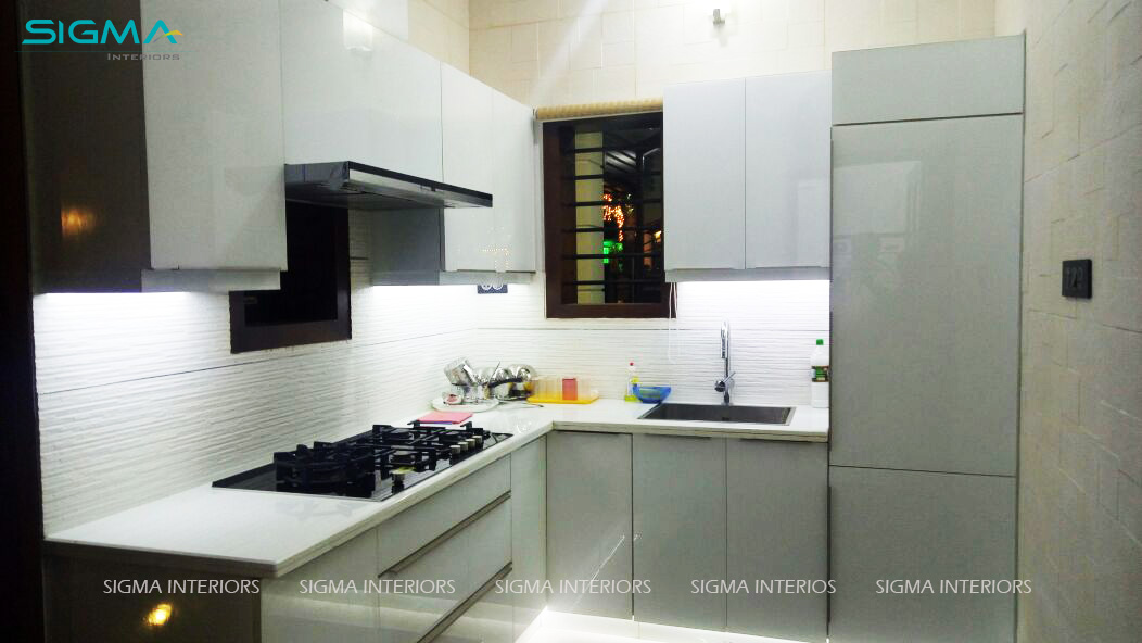 Kitchen Designed by Sigma Interiors, Kochi
