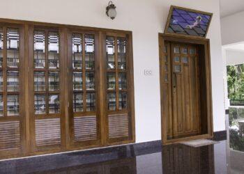 Beautiful Foyer interior in luxury style