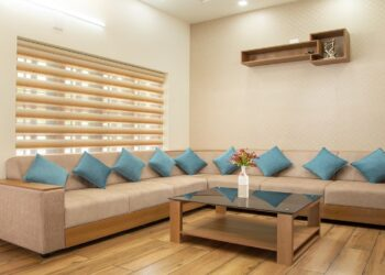 Modern living with sectional sofas