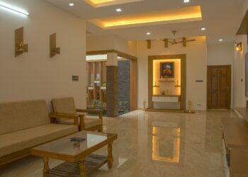 Elegant style living room