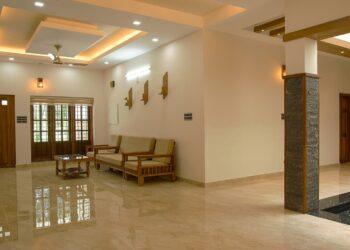 Modern, transitional heavenly living room