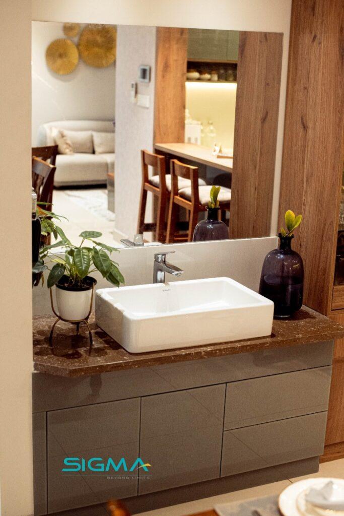 Stylish Wash Area